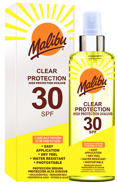 SPF30 Clear Protection Spray