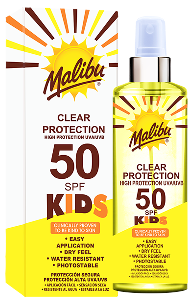 SPF50 Kids Clear Spray