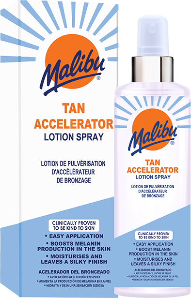 Tan Accelerator Spray